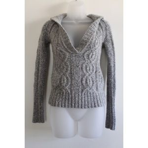 American Eagle Outfitters Gray Warm Sweater